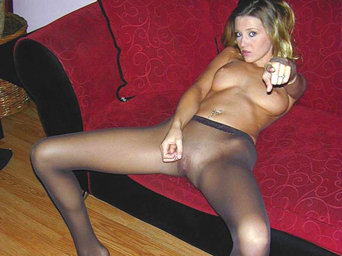 vids Instructors in pantyhose